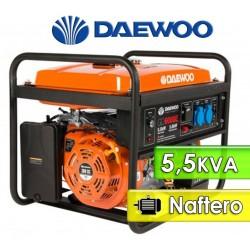 Generador Electrico 5,5 KVA a Nafta - Daewoo - GD6000E
