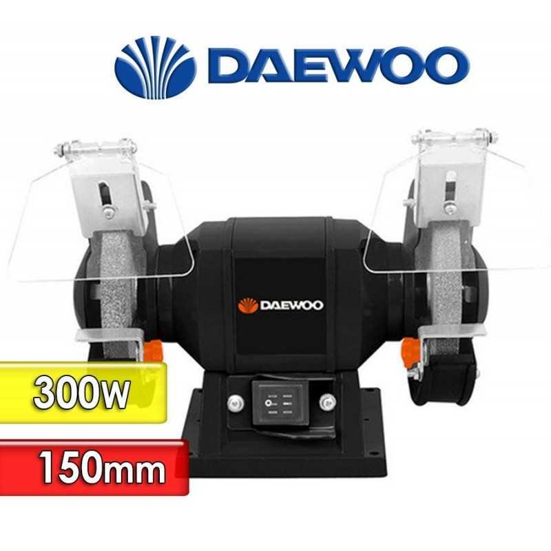 Amoladora de Banco de 150mm y 300W- Daewoo - DABG150
