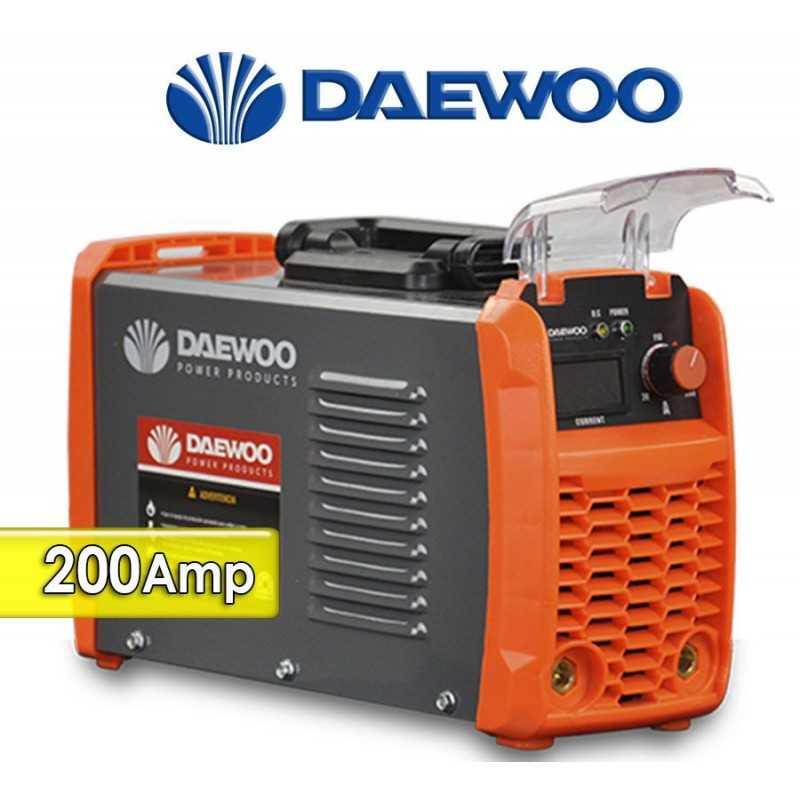 Soldador Inverter de 200 A - Daewoo - DW200N