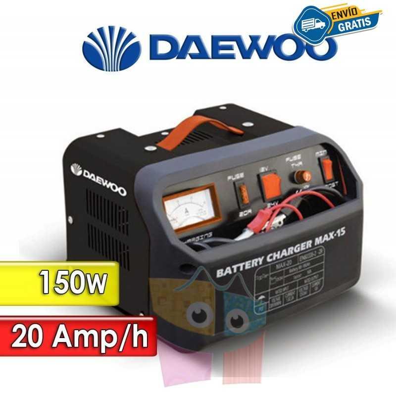 Cargador de Bateria 150 W y 20 Ah - Daewoo - DAMAX30