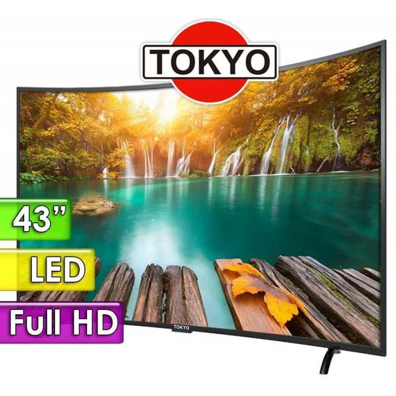 "TV Led Curvo FHD 43"" - Tokyo - TOKCH43UFHDC"