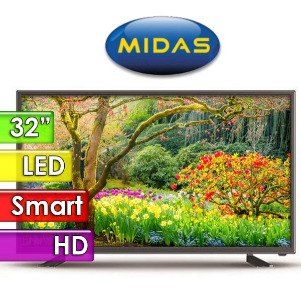 "TV Led HD 32"" Smart - Midas - MD-TV322100I"