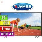 "TV Led Ultra HD 4K 55"" Smart - James - D1800"
