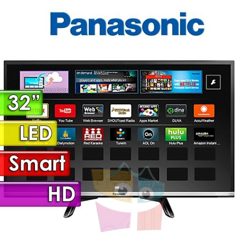 "TV Monitor Led HD 32"" Smart - Panasonic - TC-32DS600L"
