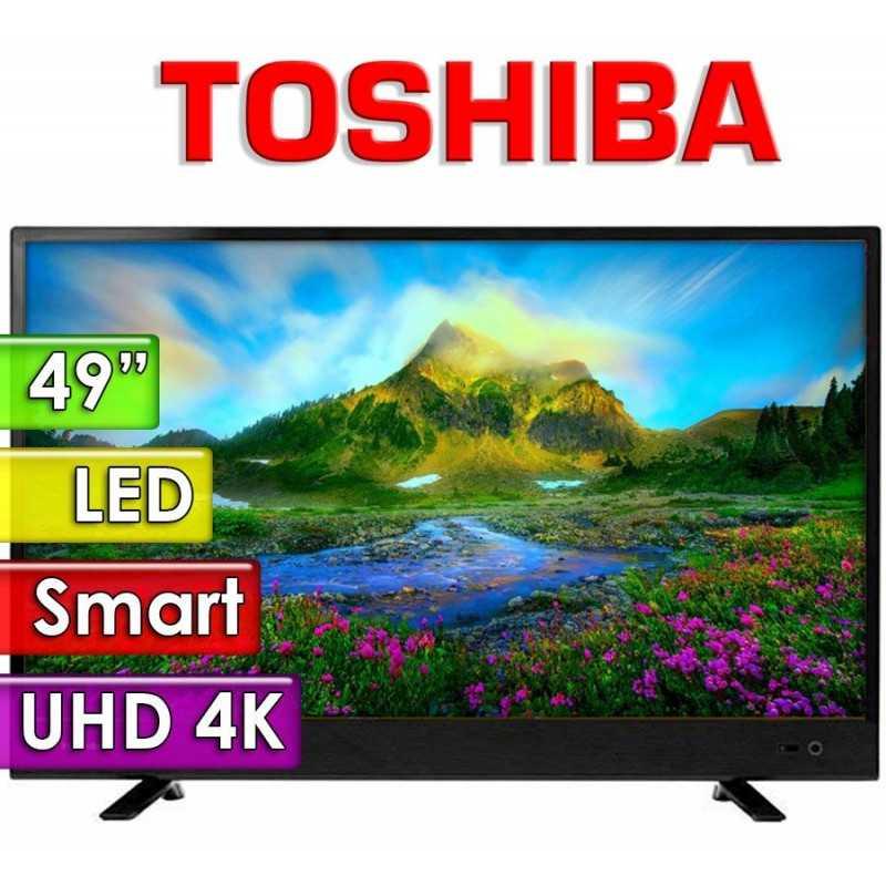 "TV Led Ultra HD 4K 49"" Smart - Toshiba - 49U4700LA"