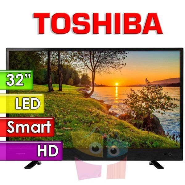 "TV Led HD 32"" Smart - Toshiba - 32L4700LA"
