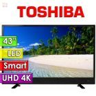 "TV Led Ultra HD 4K 43"" Smart - Toshiba - 43U4700LA"