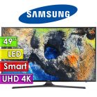 "TV Led Ultra HD 4K 49"" Smart - Samsung - UN49MU6100GXPR"