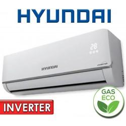 Aire Split INVERTER - 12.000 BTU F/C Gas Ecologico - Hyundai - HY-S12R410AIA
