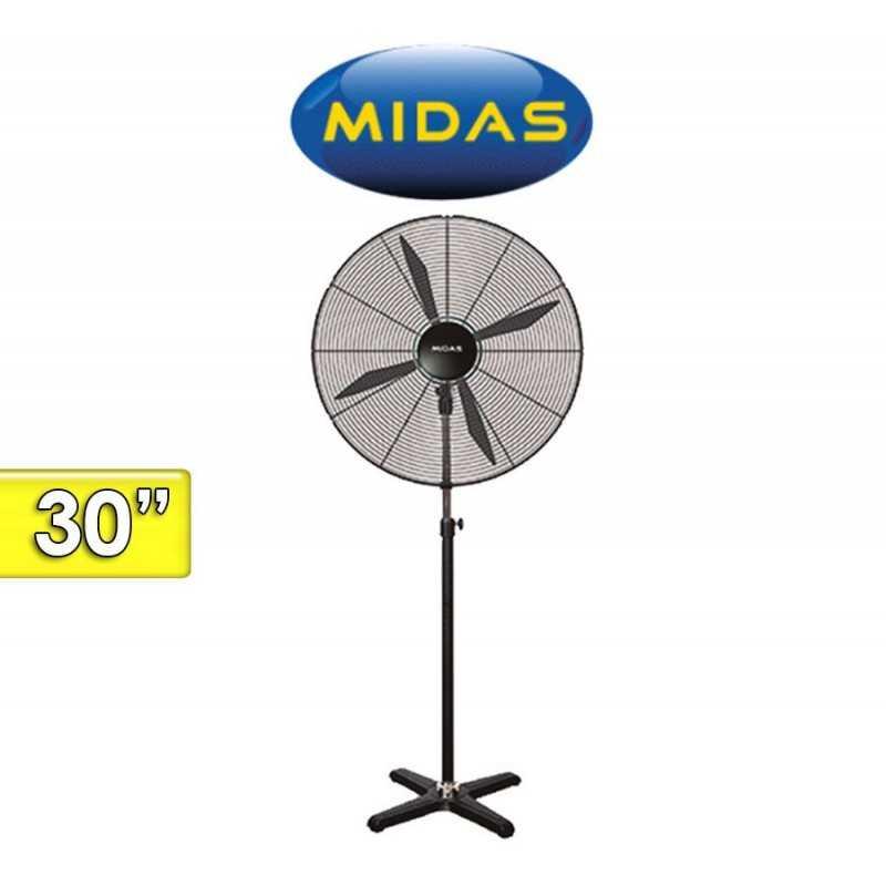 Ventilador Industrial de Pie - Midas - MD-VI3003 - 30 Pulgadas