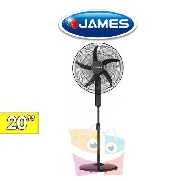 Ventilador de Pie - James - VCA VP20 - 20 Pulgadas