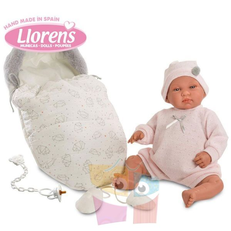 Muñeca Recien Nacida Llorona - Llorens - 44 cms - 84424